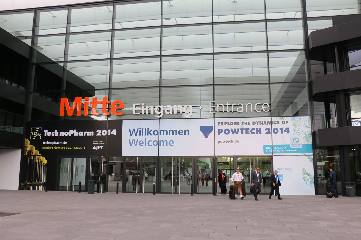 POWTECH 2014 Impressions – a Photo Gallery – Part III