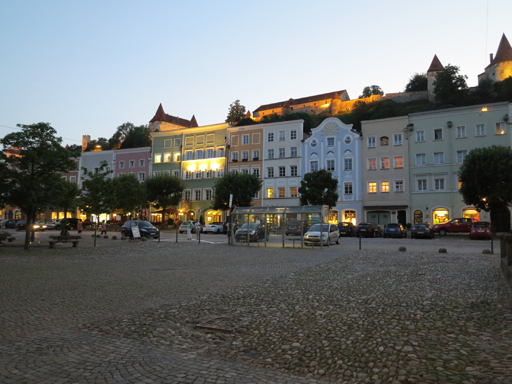 Burghausen marketplace