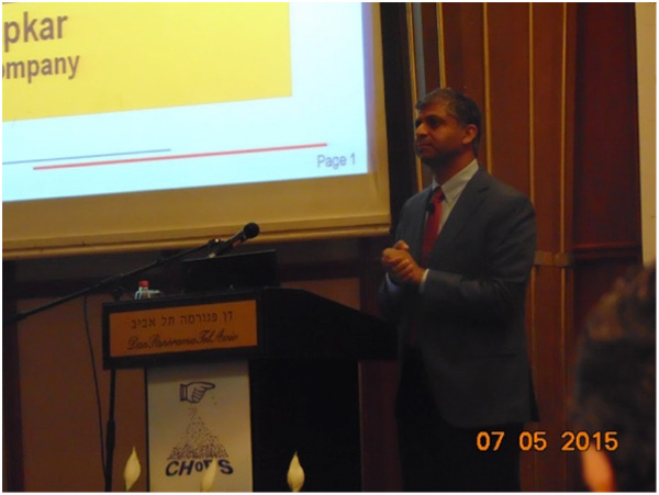 "Dr. Dhodapkar Shrikant Dow Chemical Company USA Plenary lecture: ""Fostering Innovation in Bulk Solids Handling - An Industrial Perspective"""