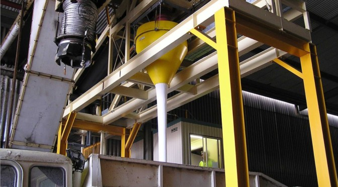DSH Dust Suppression Hoppers – Load  Bulk without Dust
