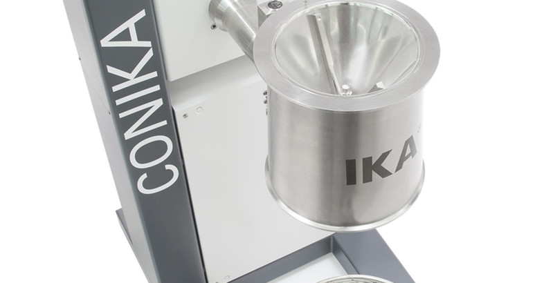IKA Sieve Mill CONIKA Challenges Agglutinated Products