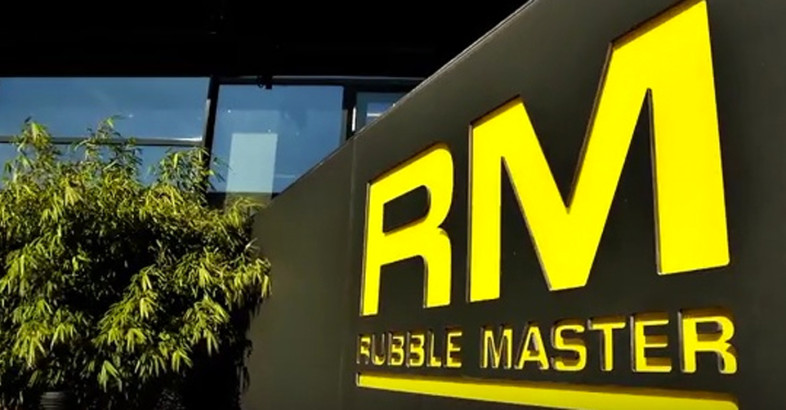 RUBBLE MASTER – Product Demo at RM Xperience Days