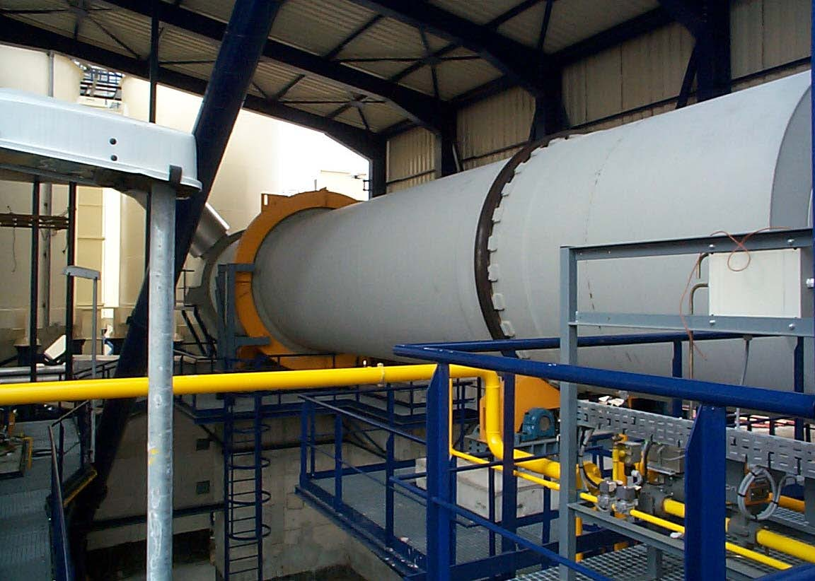 Heyl & Patterson Rotary Dryer