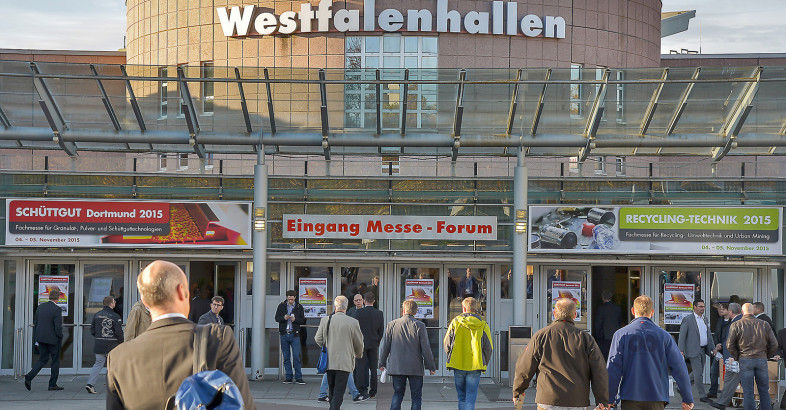 Record-setting attendance at Solids and Recycling-Technik Dortmund 2015