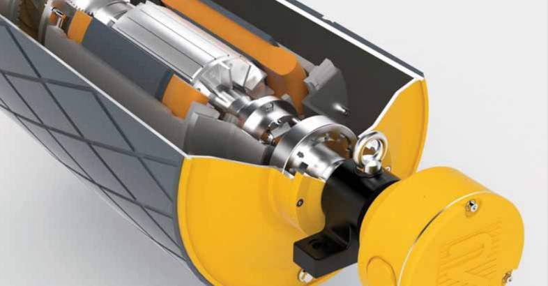 Rulmeca Publishes New Motorized Pulley Brochure