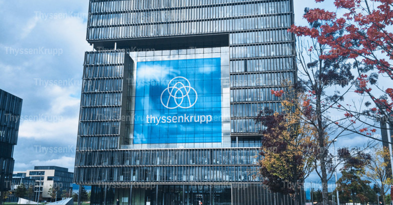 thyssenkrupp with new brand identity – common brand for all Group companies