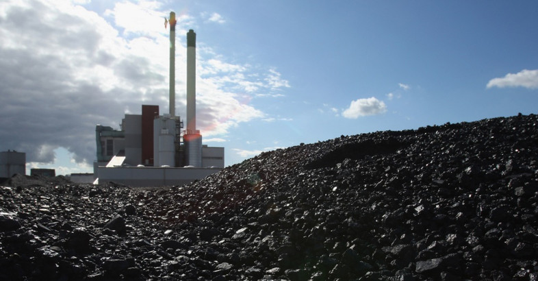 Drying Coal Ash to be Recycled