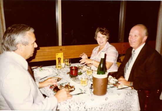 Frits Rademacher, Betty and Alan Roberts
