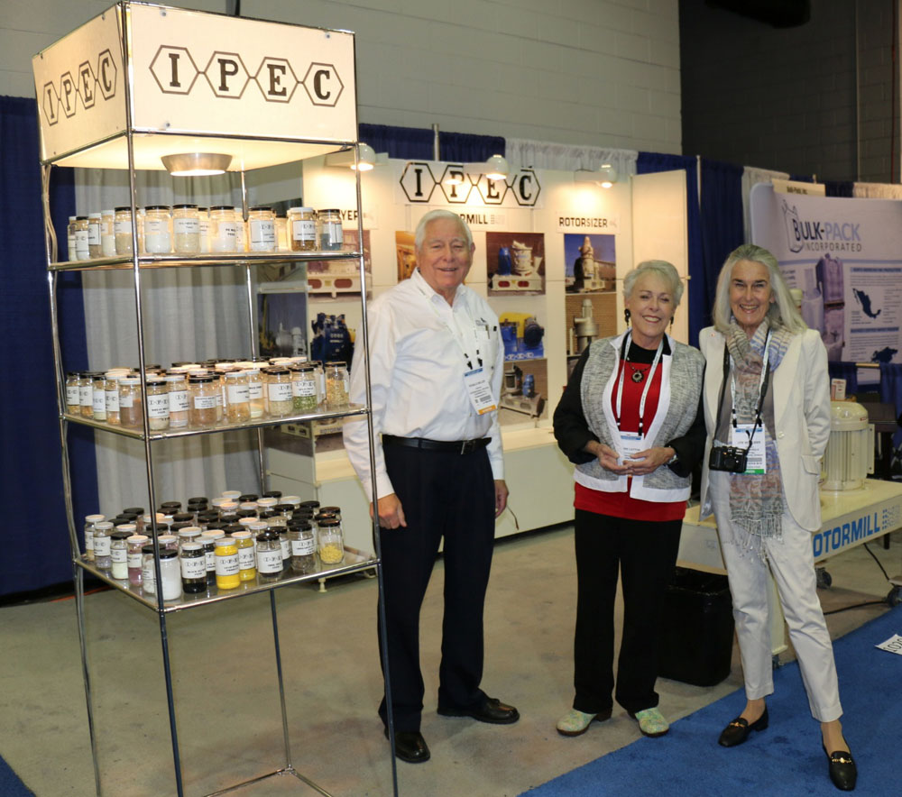 Ronald C. Miller, President, IPEC International Process Equipment Co. with Leonore