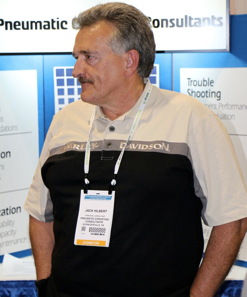 Jack Hilbert, Pneumatic Conveying Consultants