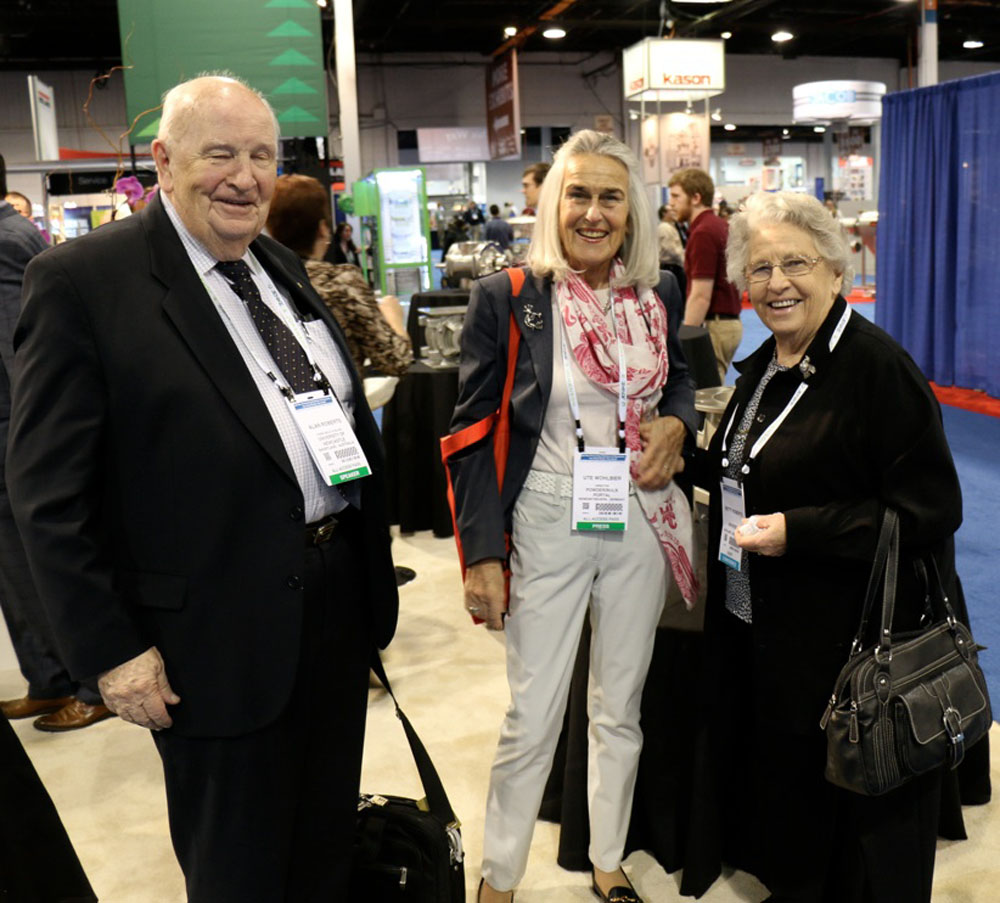 Betty and Prof. Dr. Dr. Alan Roberts, Australia