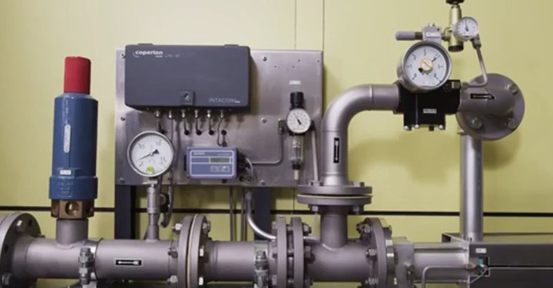 Coperion K-Tron Dense Phase Conveying Coffee