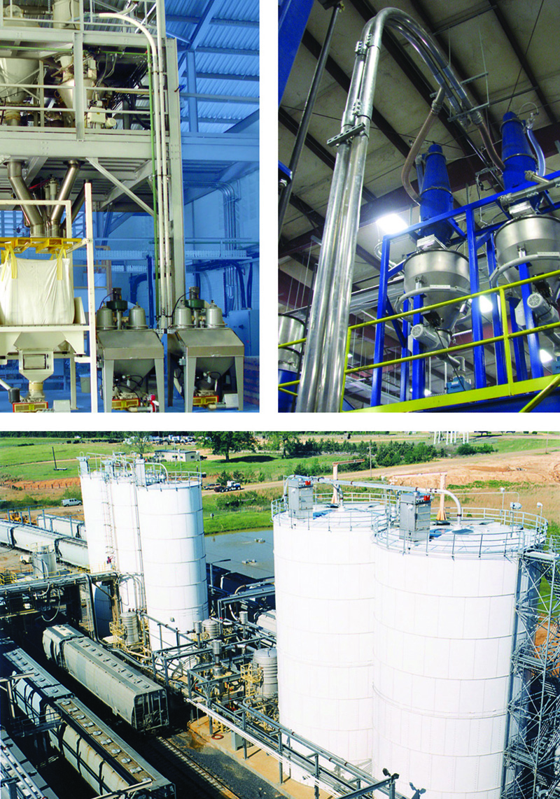 Coperion-Tron pneumatic conveying systems