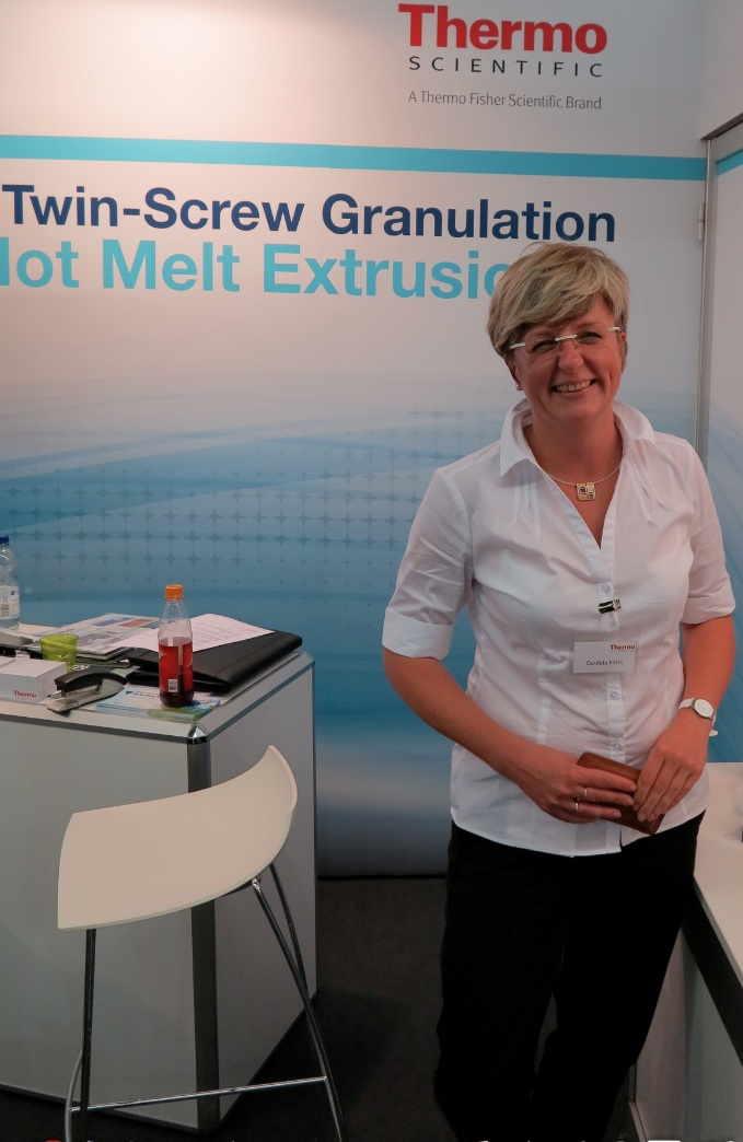 Cordula Reiss, Sales Engineer, Bulk Material Handling, Thermo Fisher Scientific Messtechnik GmbH, Germany