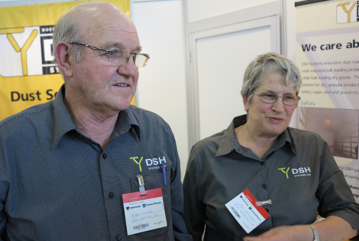 Trevor and Judi Schwass, DSH Systems Ltd., New Zealand