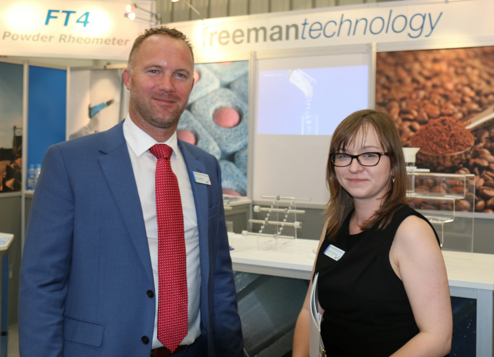 Tim Freeman, Managing Director, and Gemma Denslow, Marketing Executive, Freeman Technology Ltd., U.K.
