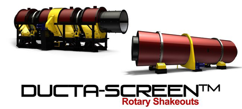 GK's Ducta-Screen® Rotary Shakeouts