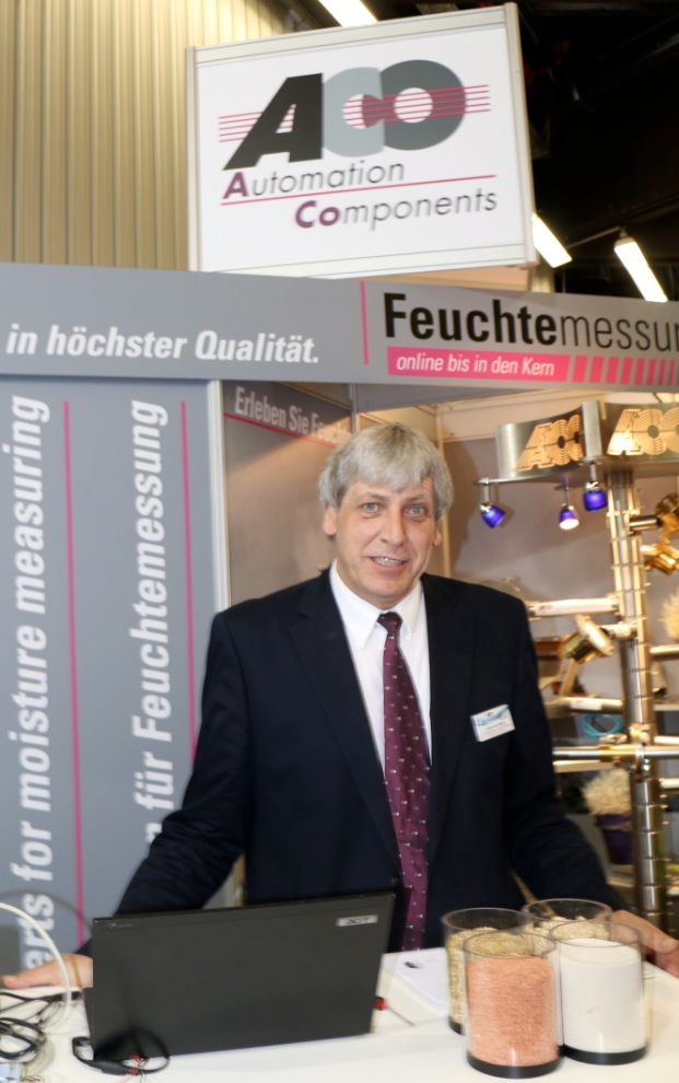 Johannes Mergl, Managing Director, ACO Automation Components Moisture Measuring Systems, Germany