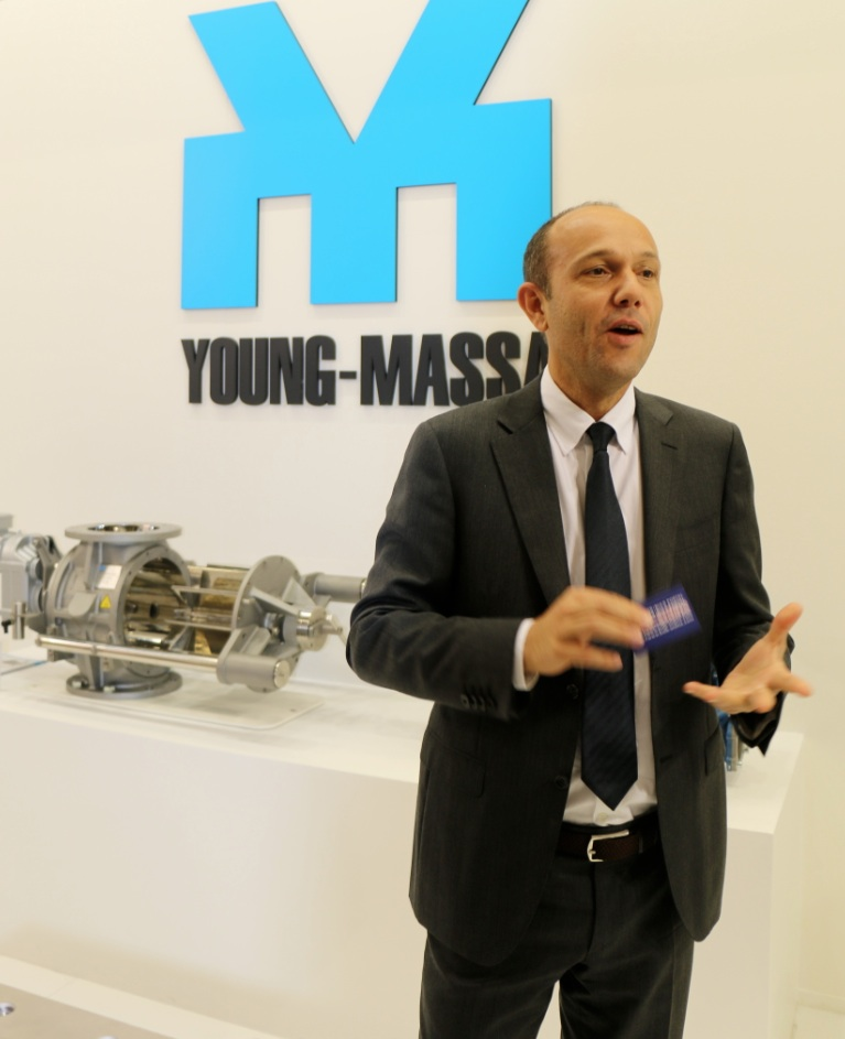 Matteo Padovani, Sales Manager, YOUNG-MASSA srl, Italy