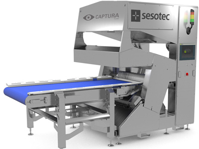 The newly developed CAPTURA FLOW food sorting system