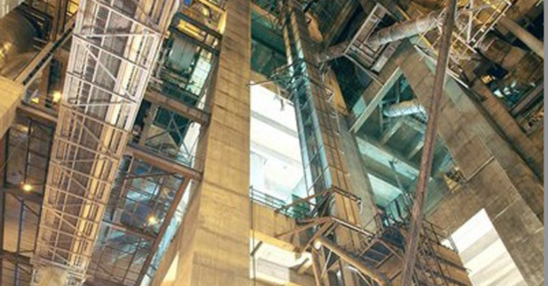 BEUMER Supplies World's Highest Bucket Elevator to Indian Cement Manufacturer