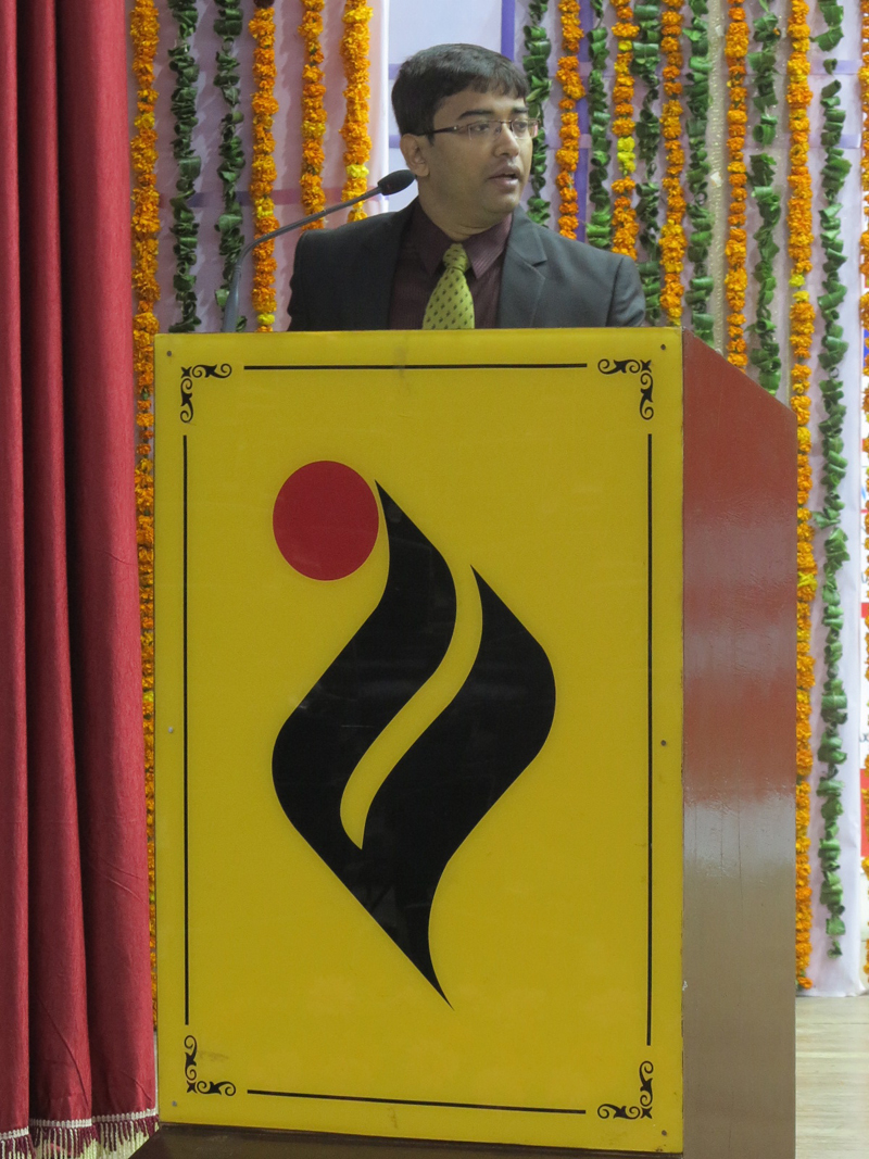 Dr. S.S. Mallick, Conference Manager