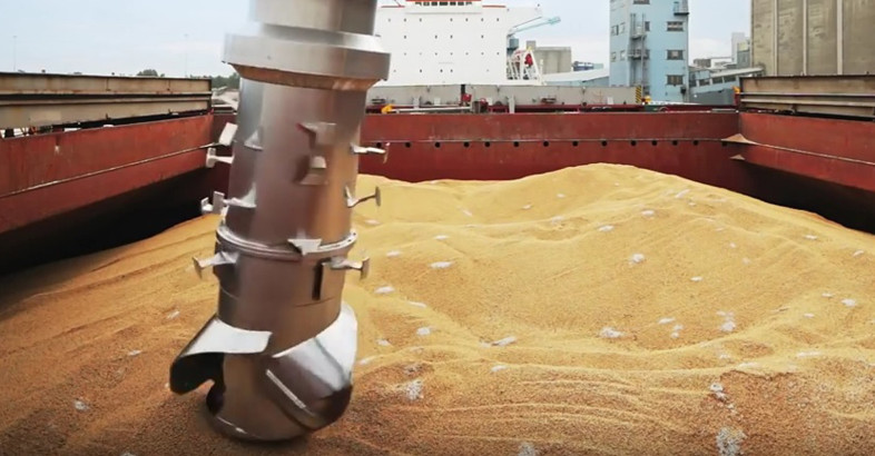 Siwertell Ship Unloaders – Grain