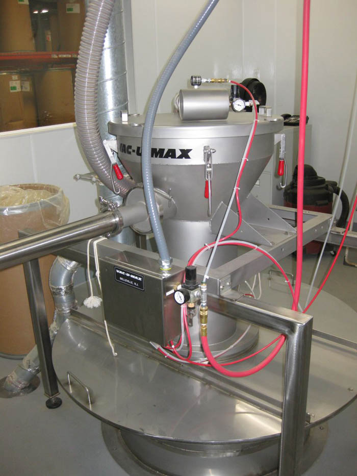 VAC-U-MAX Vacuum Conveying System for Tea