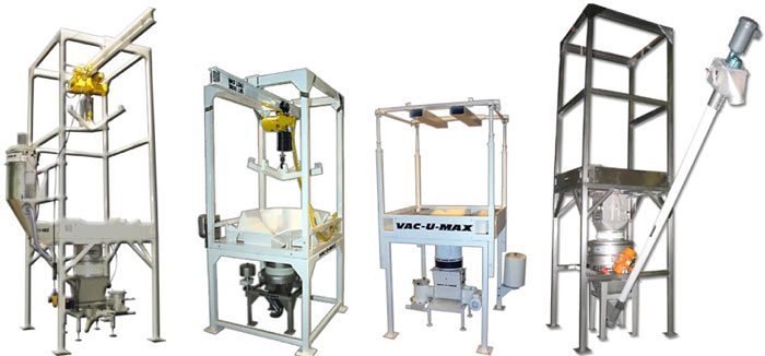 VAC-U-MAX Bulk Bag Unloaders are customized for your application