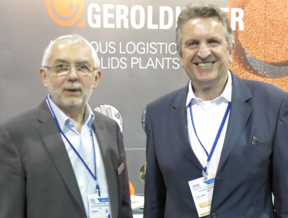 Two CEOs from Austria: Walter Geroldinger and Johann Daxner