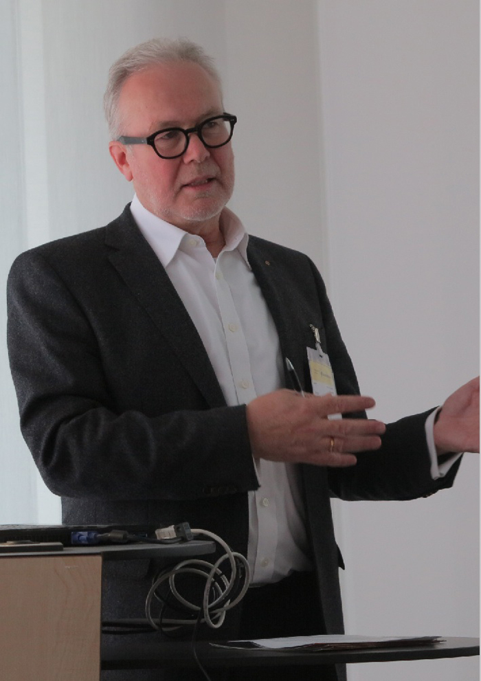 Jochen Baumgartner, Publisher of SILO WORLD and Managing Director of DSIV