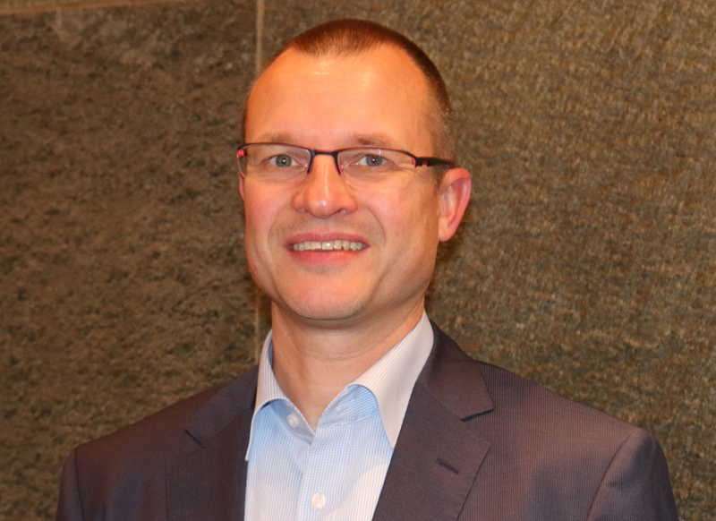 Gregor Baumeister is the new Manager of the Palletizing and Packaging Systems Division