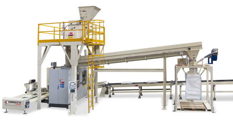 Concetti: Bagging System and Bulk Bag Filling System Combined