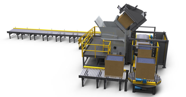 National Bulk Equipment (NBE): Fully Automated, Self-contained Bulk Material Handling System