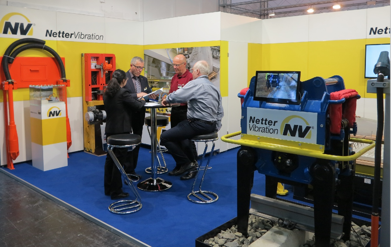 NetterVibration at bauma 2016 in Munich (https://news.bulk-online.com/news-english/bauma-2016-a-photo-gallery-part-ii.html)