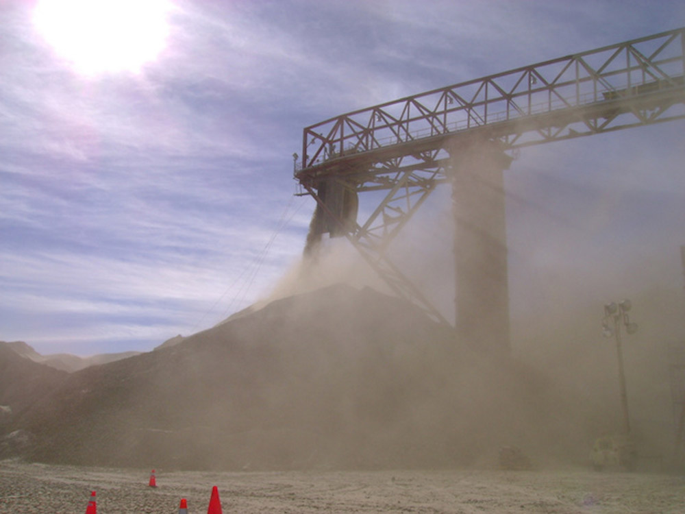 Geometrica: Combat Dust – Cover Your Stockpile | Bulk-Blog