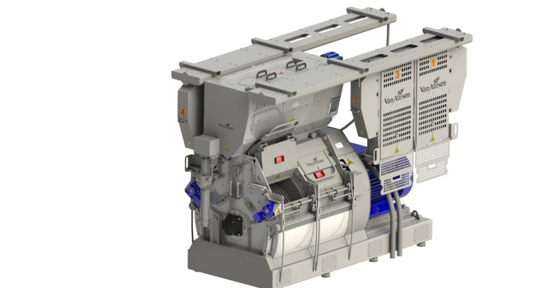 Van Aarsen introduces new feeding device for its GD hammer mill to minimise explosion risk