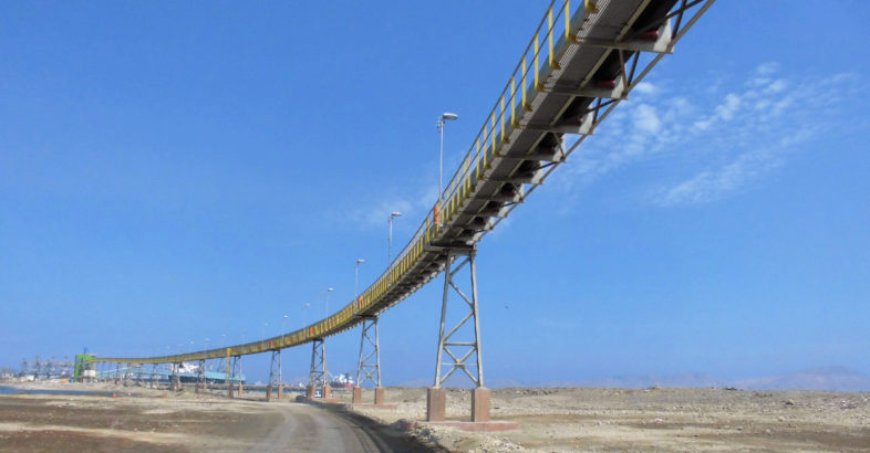 BEUMER Group Pipe Conveyor ensures dust-free transportation of ore concentrates