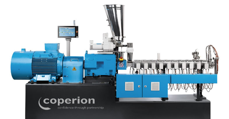 Coperion at K 2016: STS Mc11 twin screw extruder designed for masterbatch production