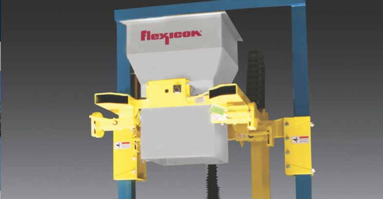 Flexicon: Wide-Inlet Bulk Bag Filler Handles Chunks, Semi-Solids