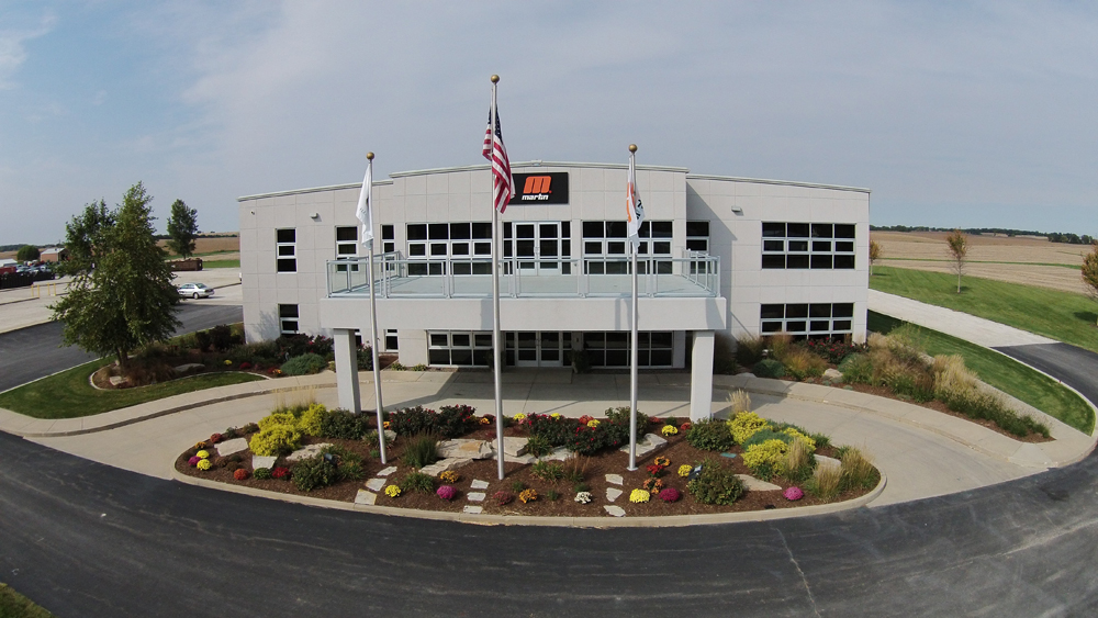 Martin Engineering headquarters in Neponset, IL, USA