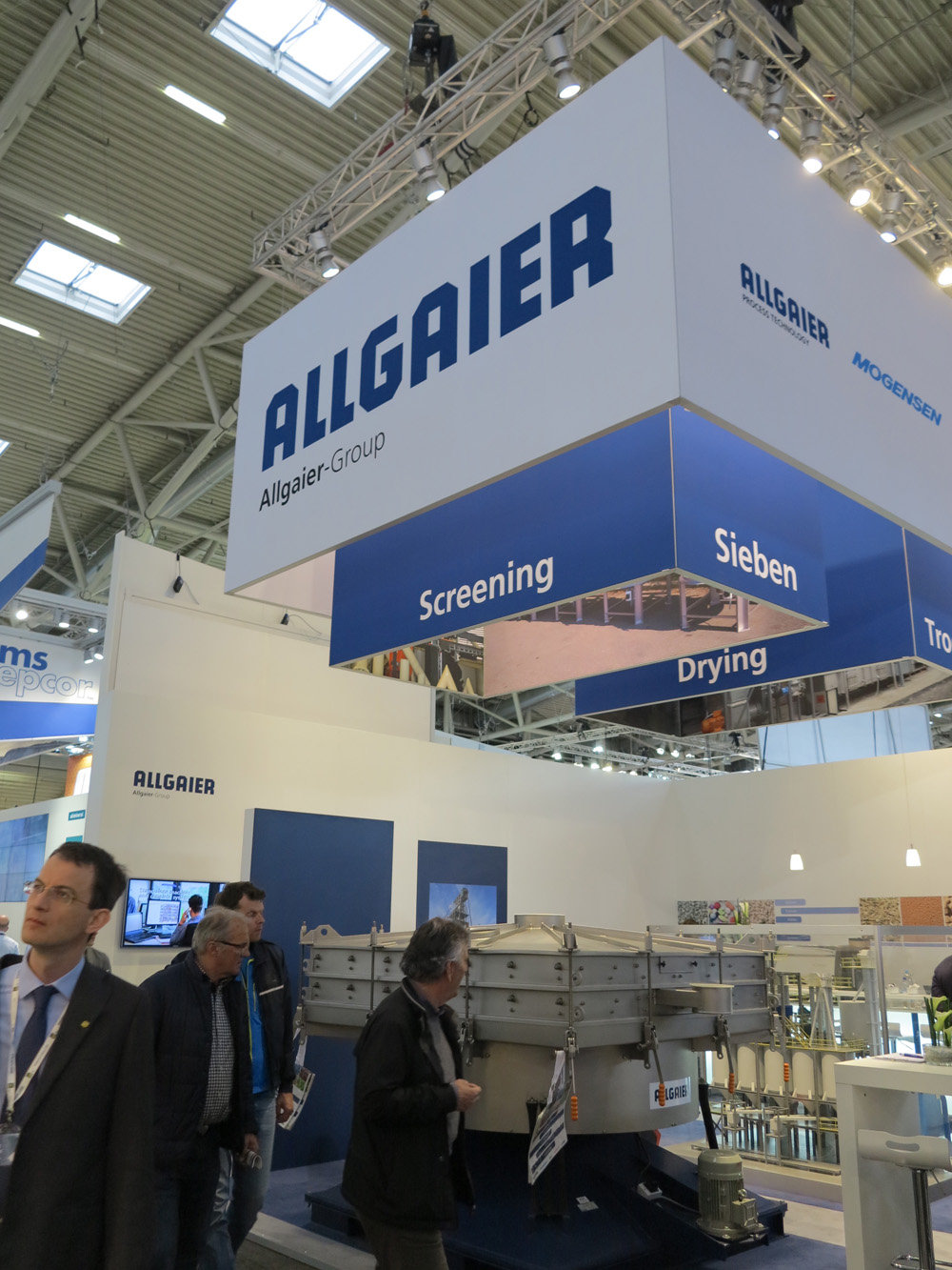Allgaier Group at bauma 2016 in Munich, Germany