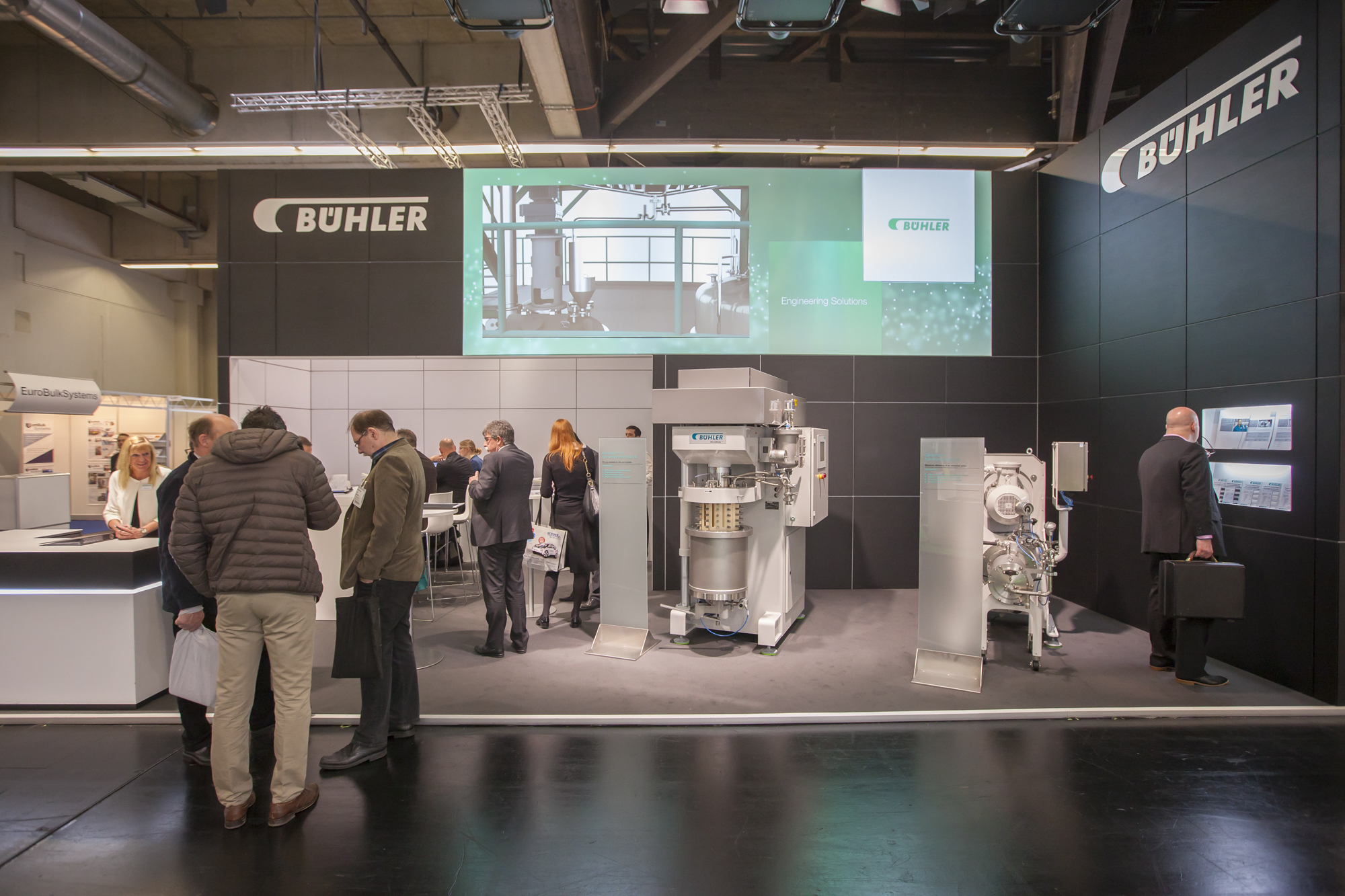 Bühler Group at POWTECH 2016 in Nürnberg, Germany (photo: Reinhard H. Wöhlbier)