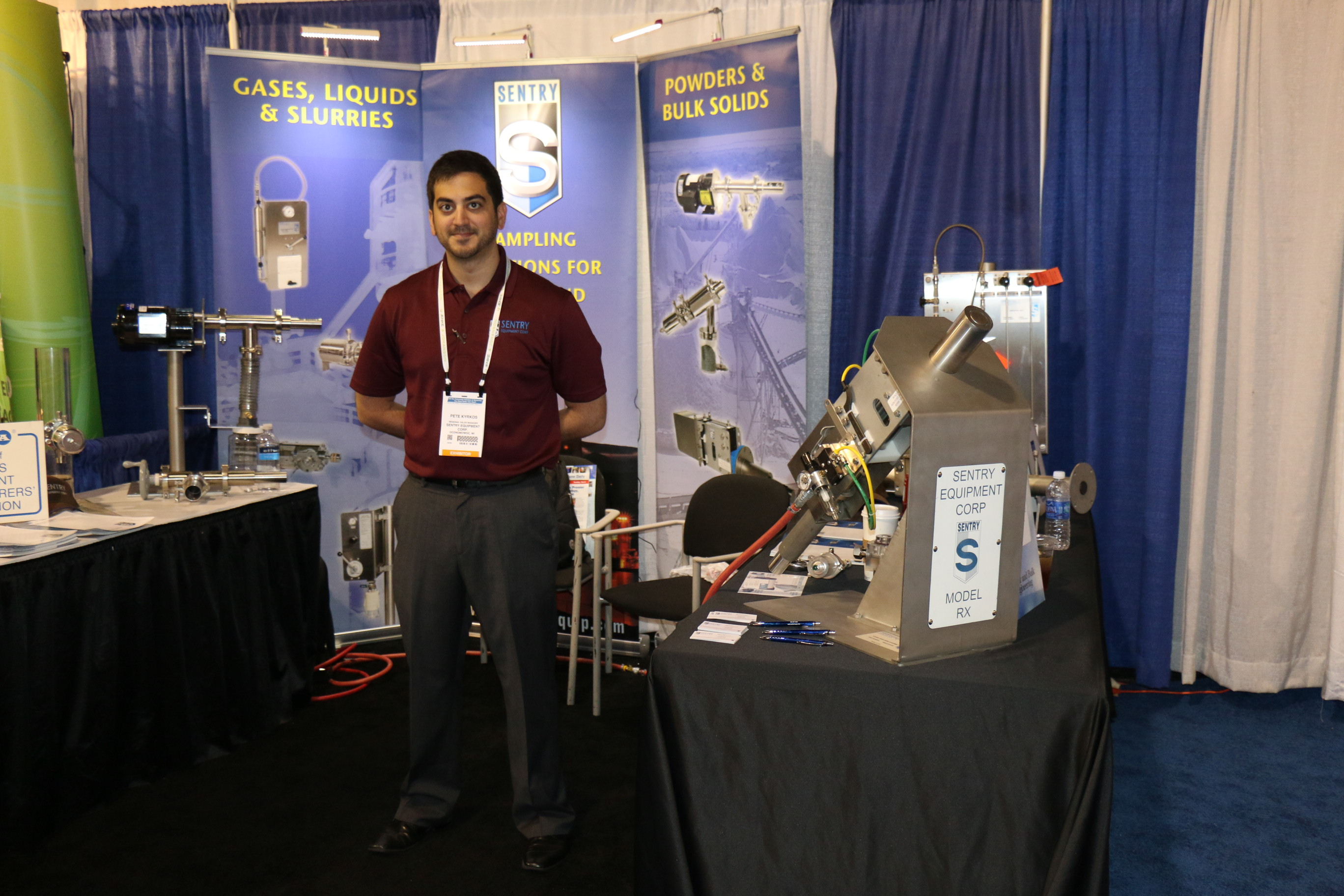SENTRY Equipment Corp. at the Powder & Bulk Solids Show in Chicago