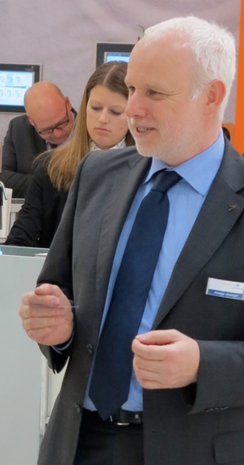 Rüdiger Kissinger, Head of Marketing, motan-colortronic GmbH, Germany