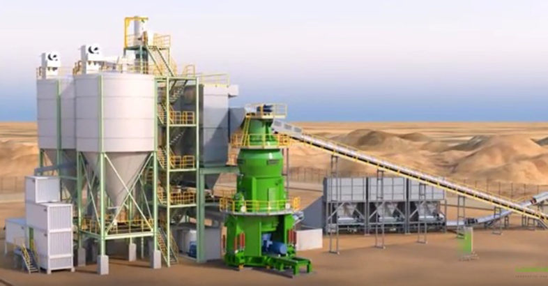 Cement Plant Grinding : Loesche new compact cement grinding plant ccg