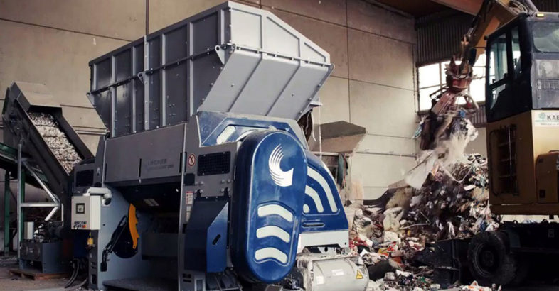 Lindner: Polaris single-shaft shredder optimizes the one-step processing of refuse-derived fuel