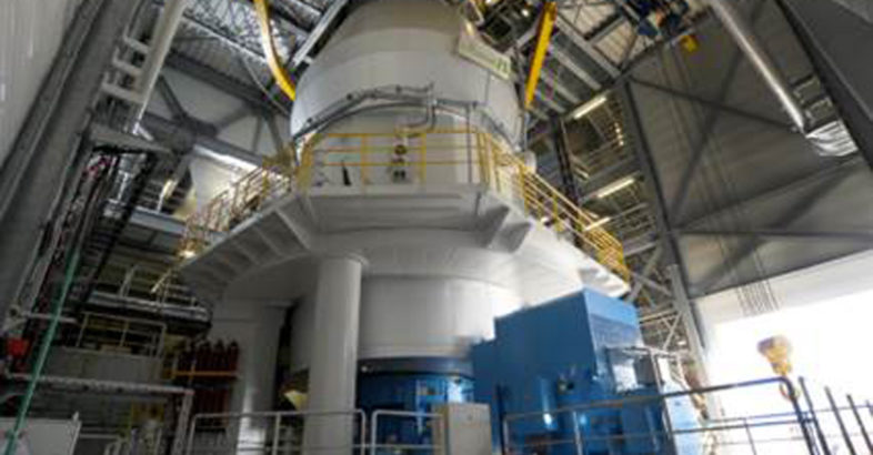 LOESCHE vertical roller mill for the new Dunkerque cement plant
