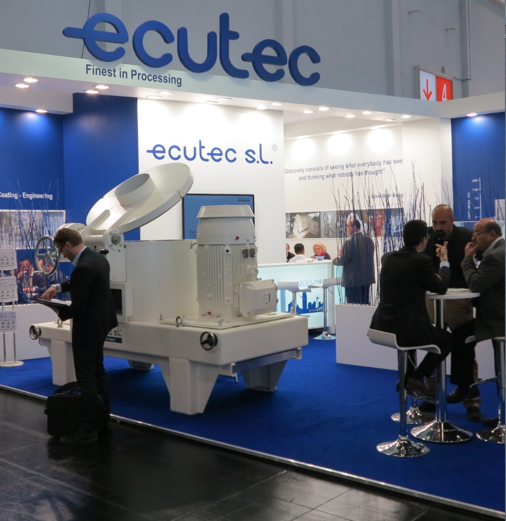 ECUTEC at POWTECH 2016 in Nürnberg