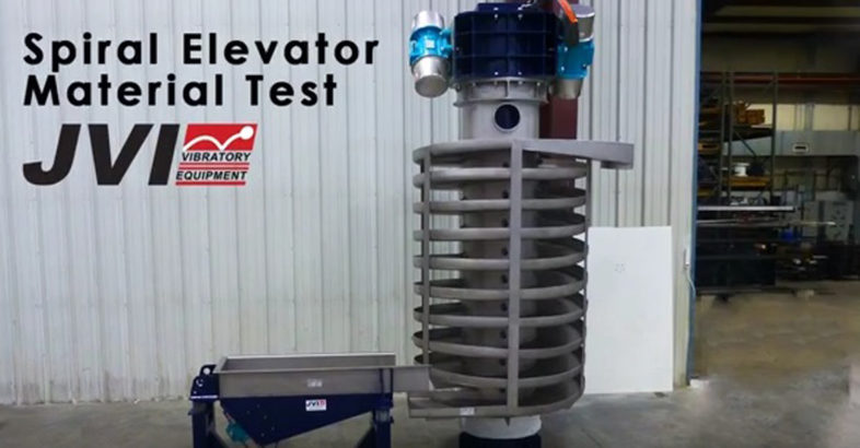 JVI Vibratory Equipment: Spiral Material Test Final